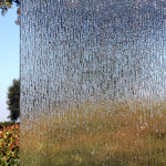 Rain Glass Shower Door