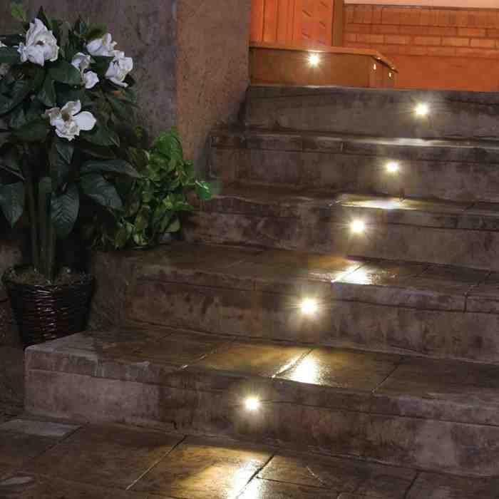 Recessed Outdoor Led Step Lights