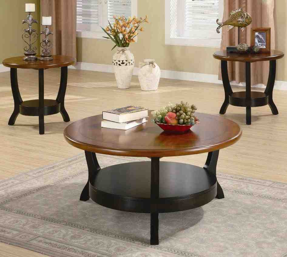 3 Piece Living Room Table Sets