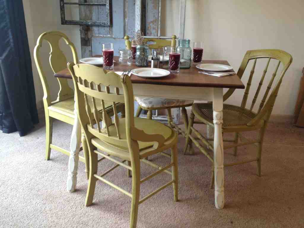Antique Kitchen Table And Chairs Decor Ideas