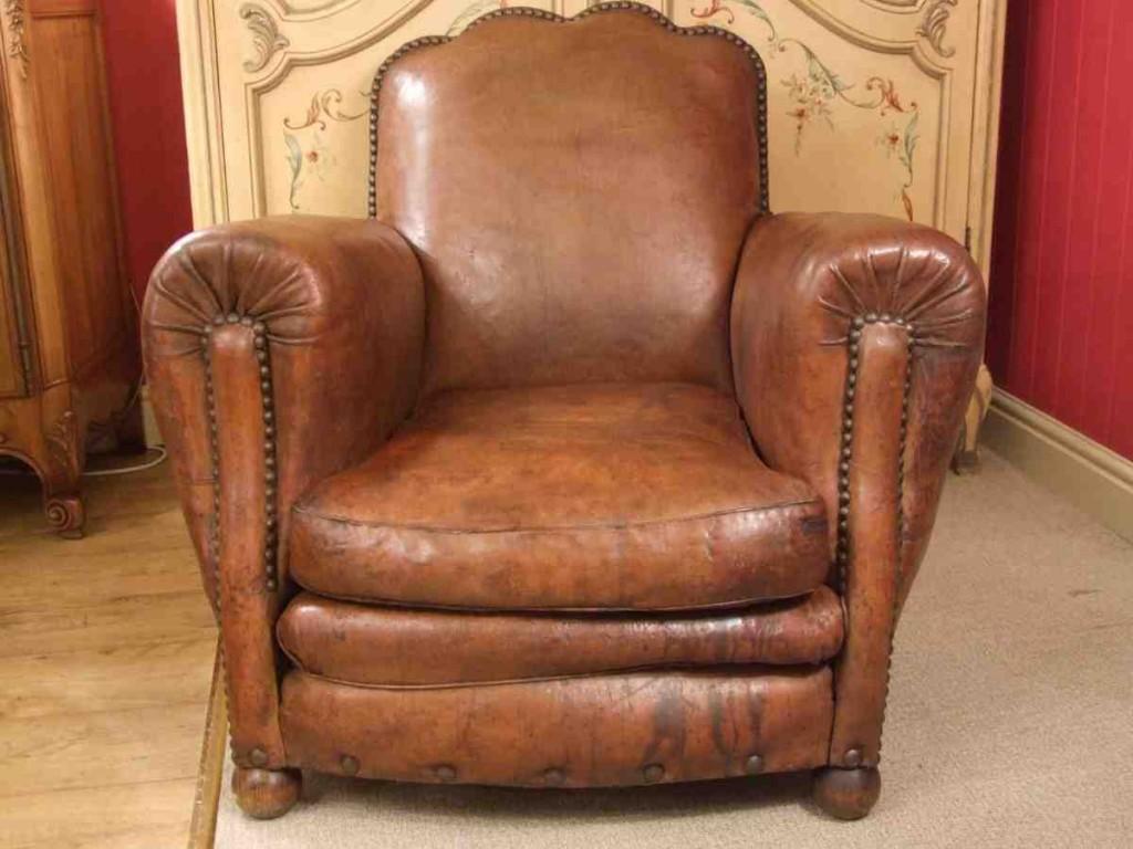 Brexley Leather Club Chair