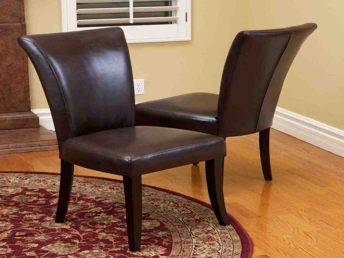 Brown Leather Dining Room Chairs - Decor Ideas