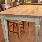 Butcher Block Kitchen Table and Chairs