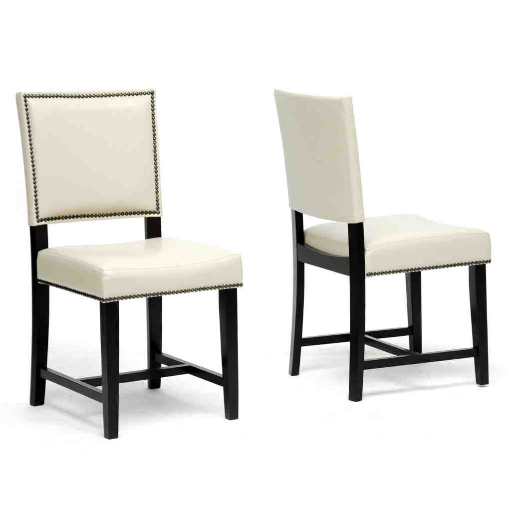 Contemporary Leather Dining Chairs