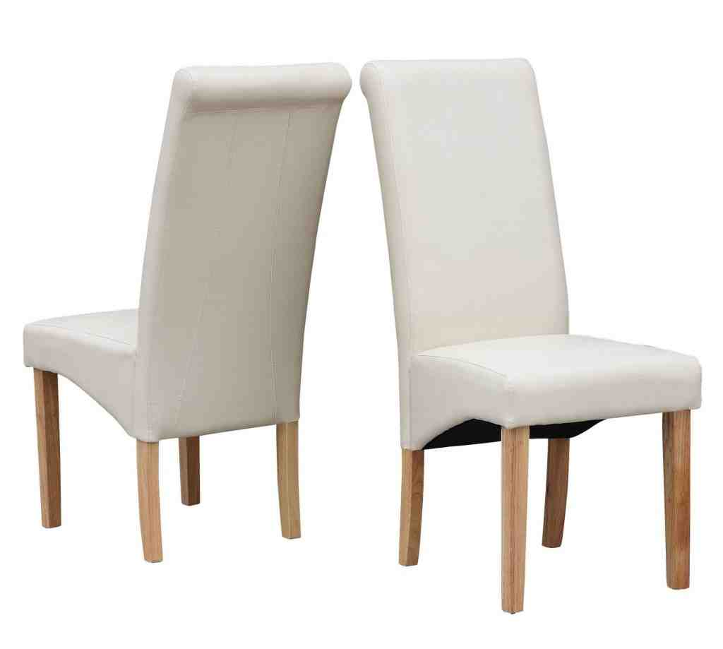 High Back Leather Dining Chairs