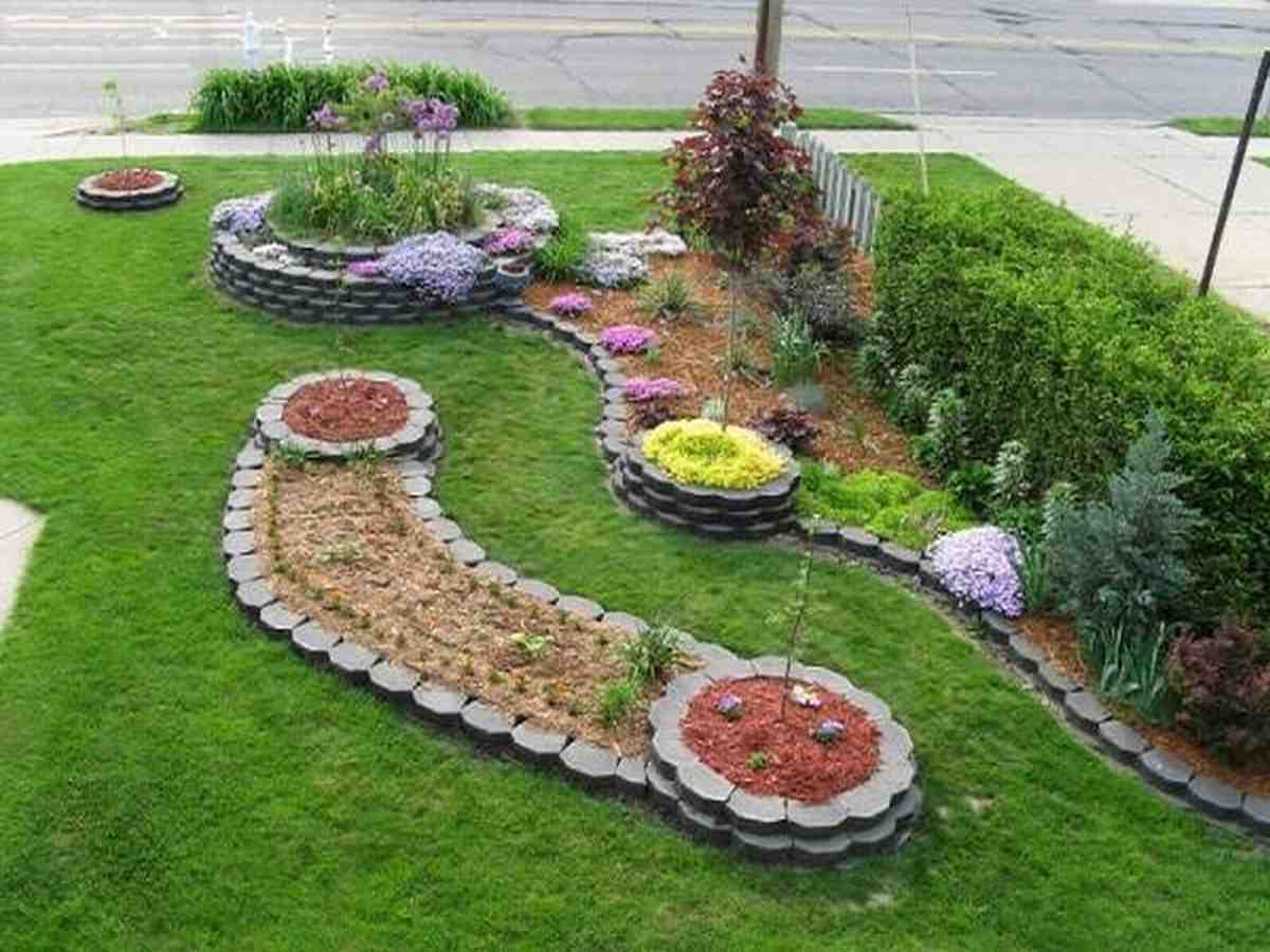 How To Landscape Front Yard Decor Ideas