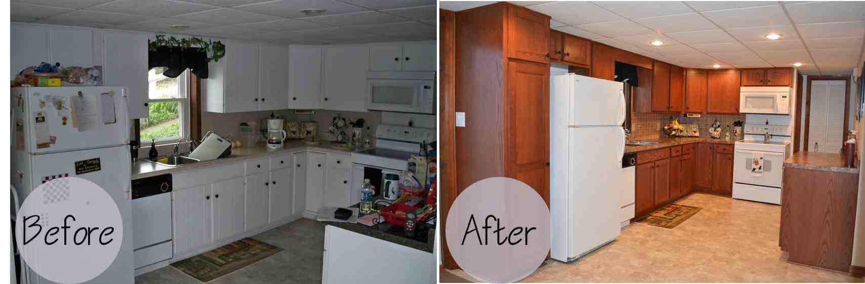 Kitchen Cabinet Refacing Before And After Photos Decor Ideas
