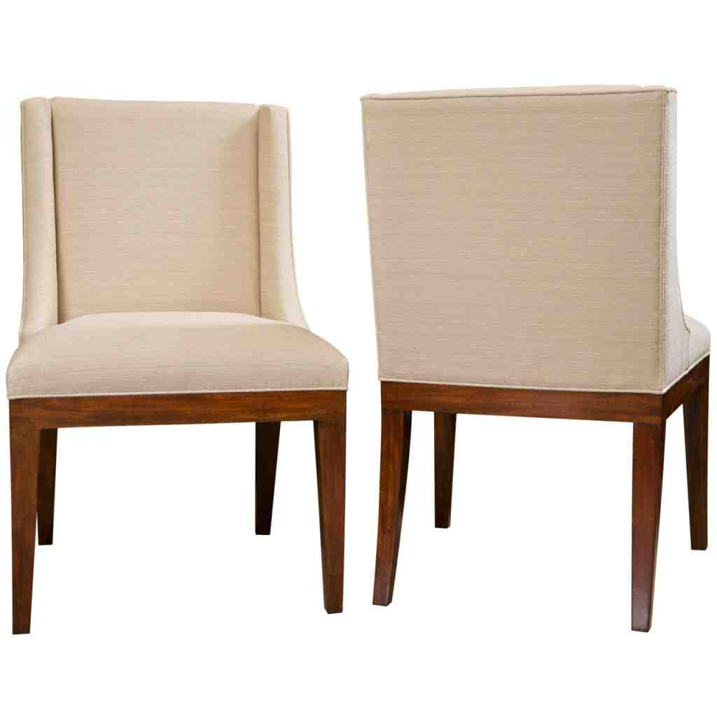 Leather Upholstered Dining Chairs