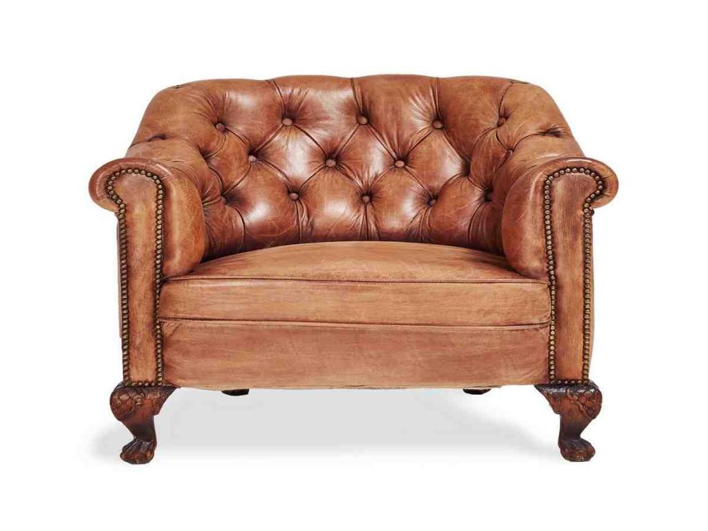 Manhattan Leather Club Chair
