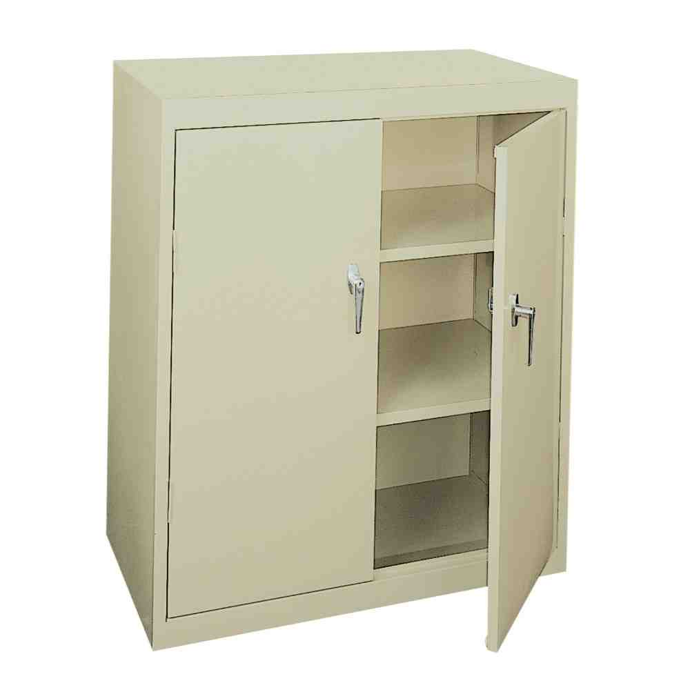 Metal Storage Cabinet With Lock