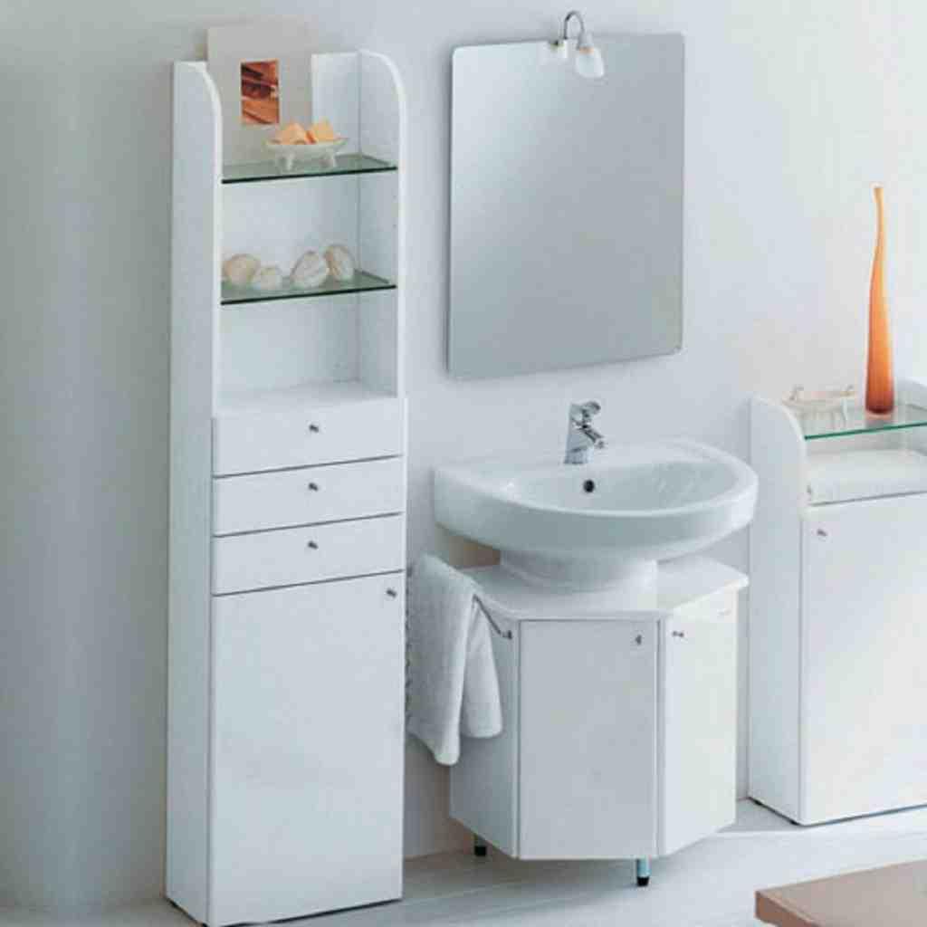 Modern Bathroom Storage Cabinet