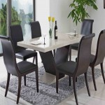 Modern Leather Dining Room Chairs