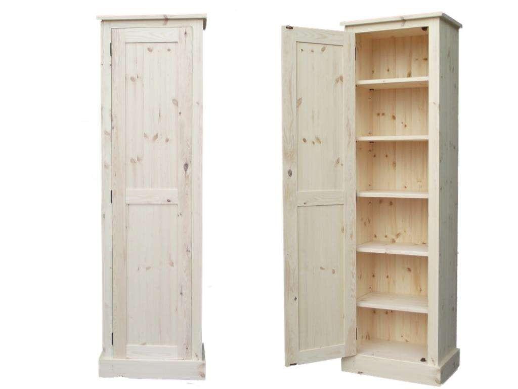 Oak Bathroom Storage Cabinet