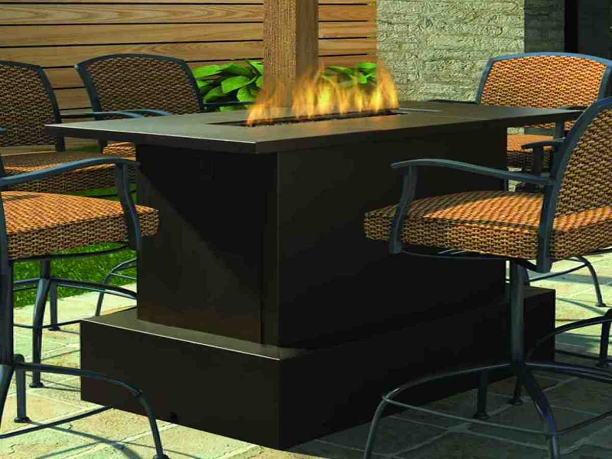 Fire Pit Tables Woodlanddirect Outdoor Fireplaces Patio Sets With Fire Pit Table Patio Sets With Fire Pit Table