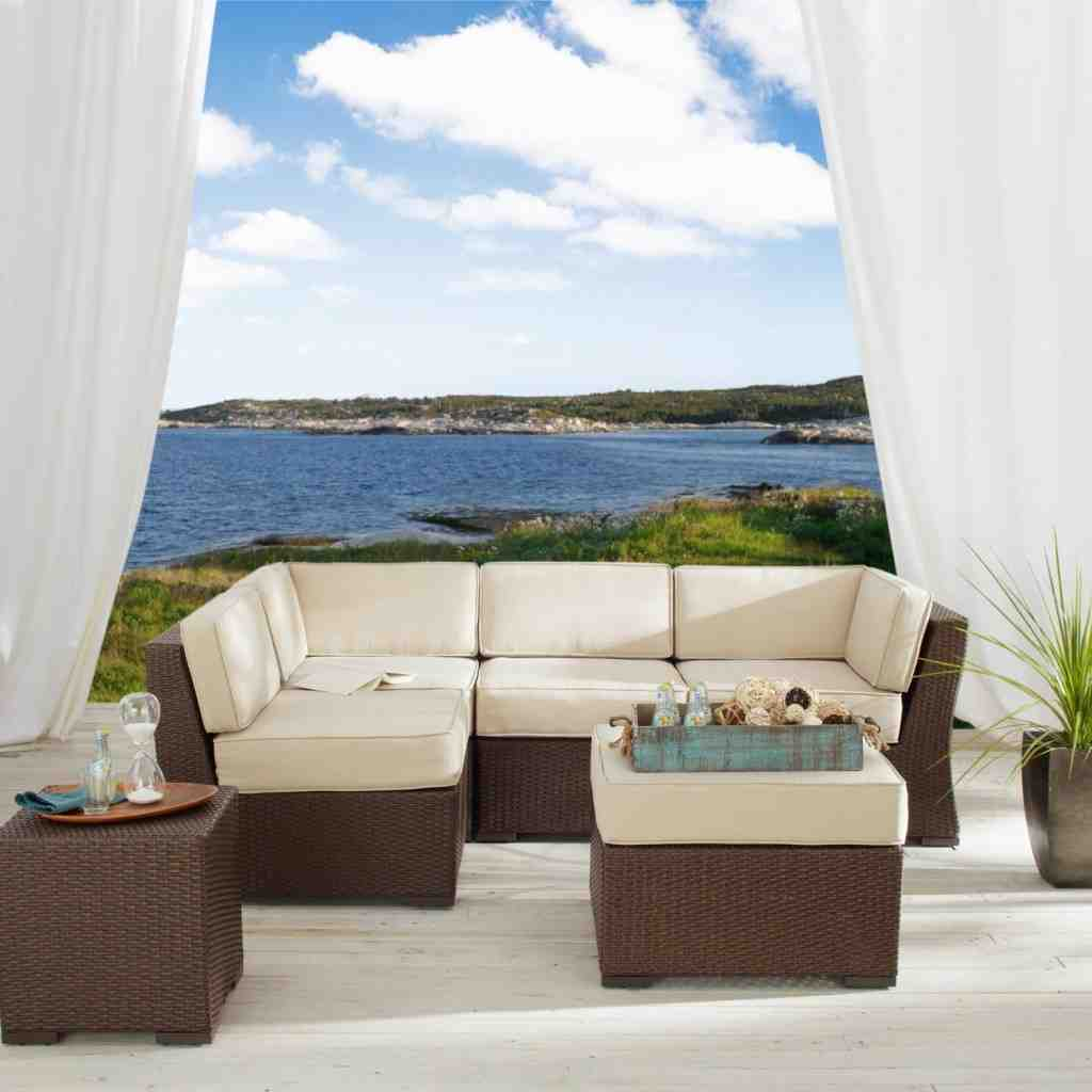 Patio Furniture Sectional Sets