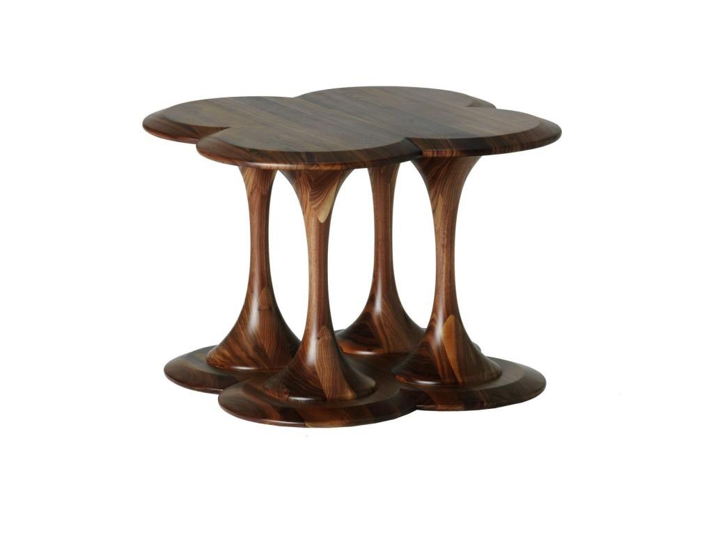 Round Pedestal Side Table