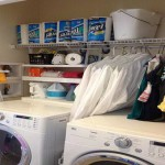 Rubbermaid Laundry Room Storage