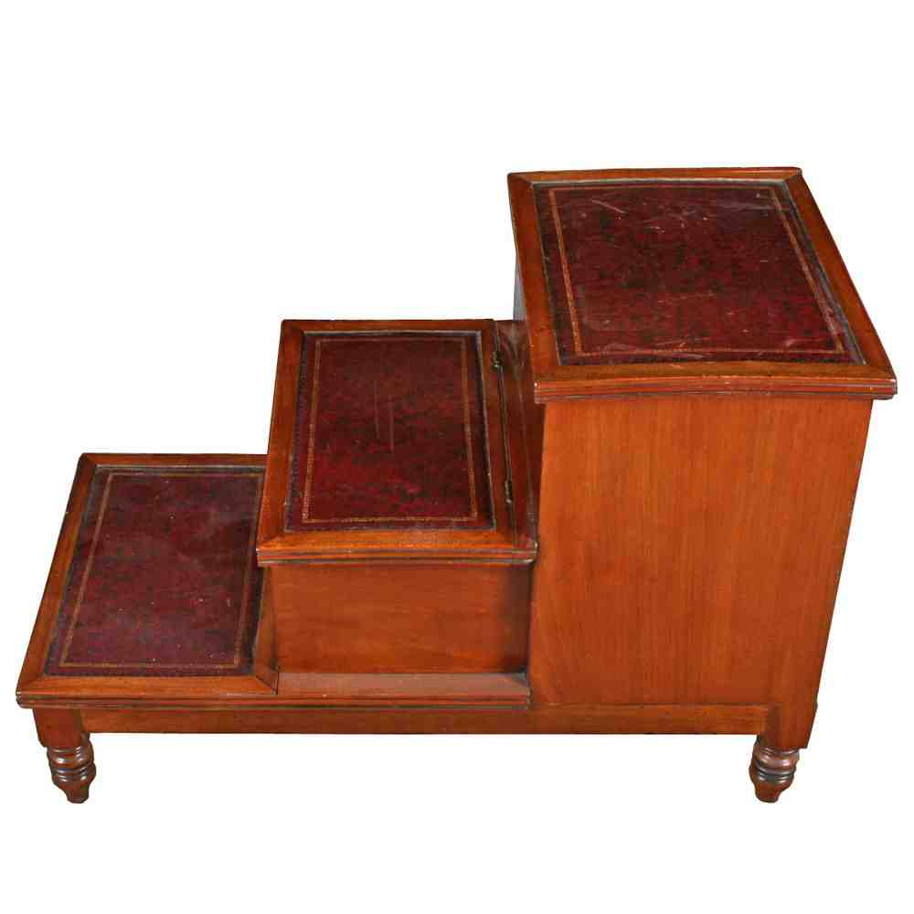 Antique Step Stool Chair