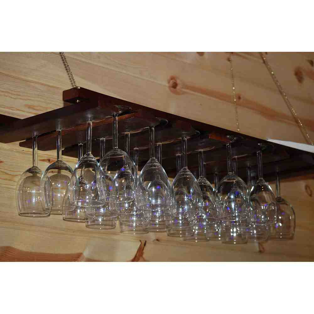 How To Build A Wine Glass Rack