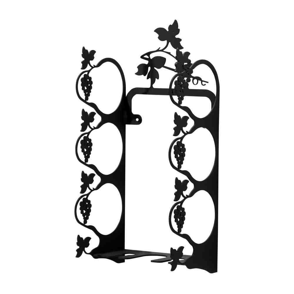 Iron Wine Rack Wall Mounted