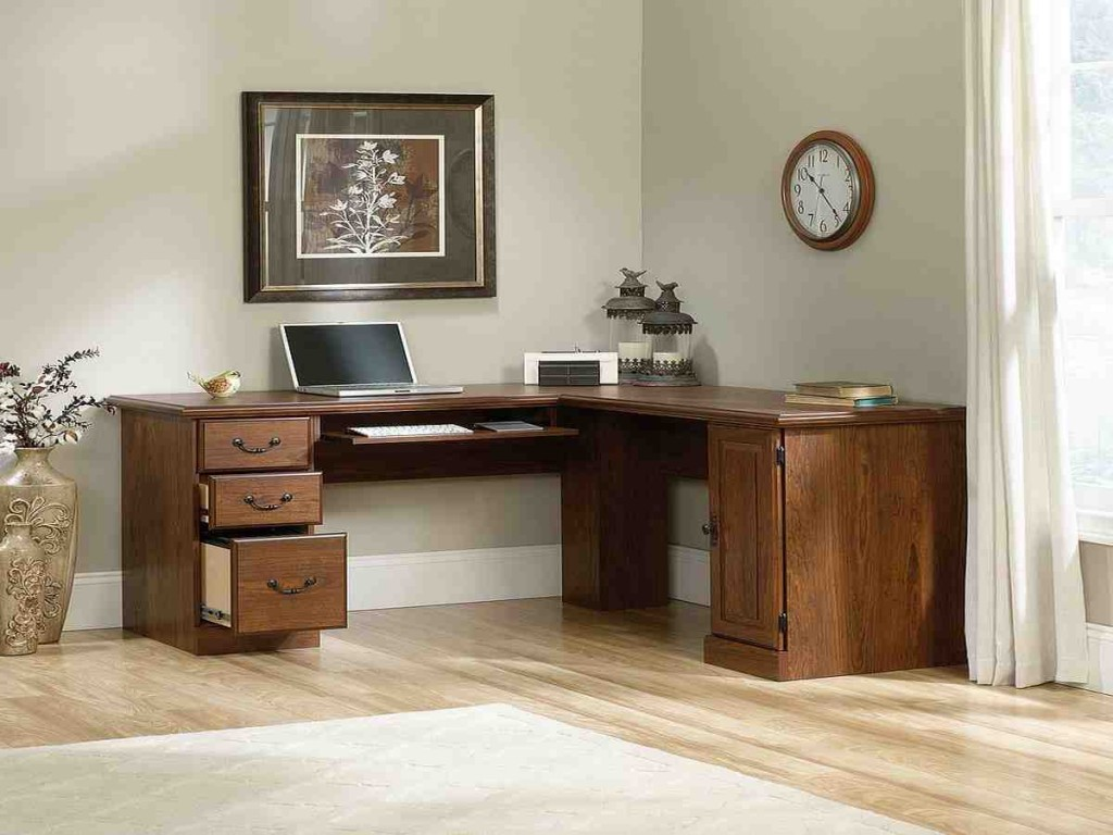 Sauder Furniture Corner Computer Desk