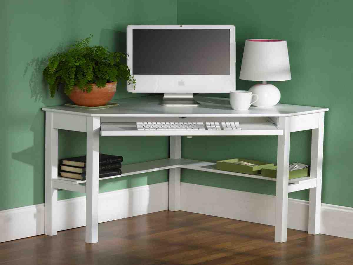 Small Corner Computer Desk Decor Ideas