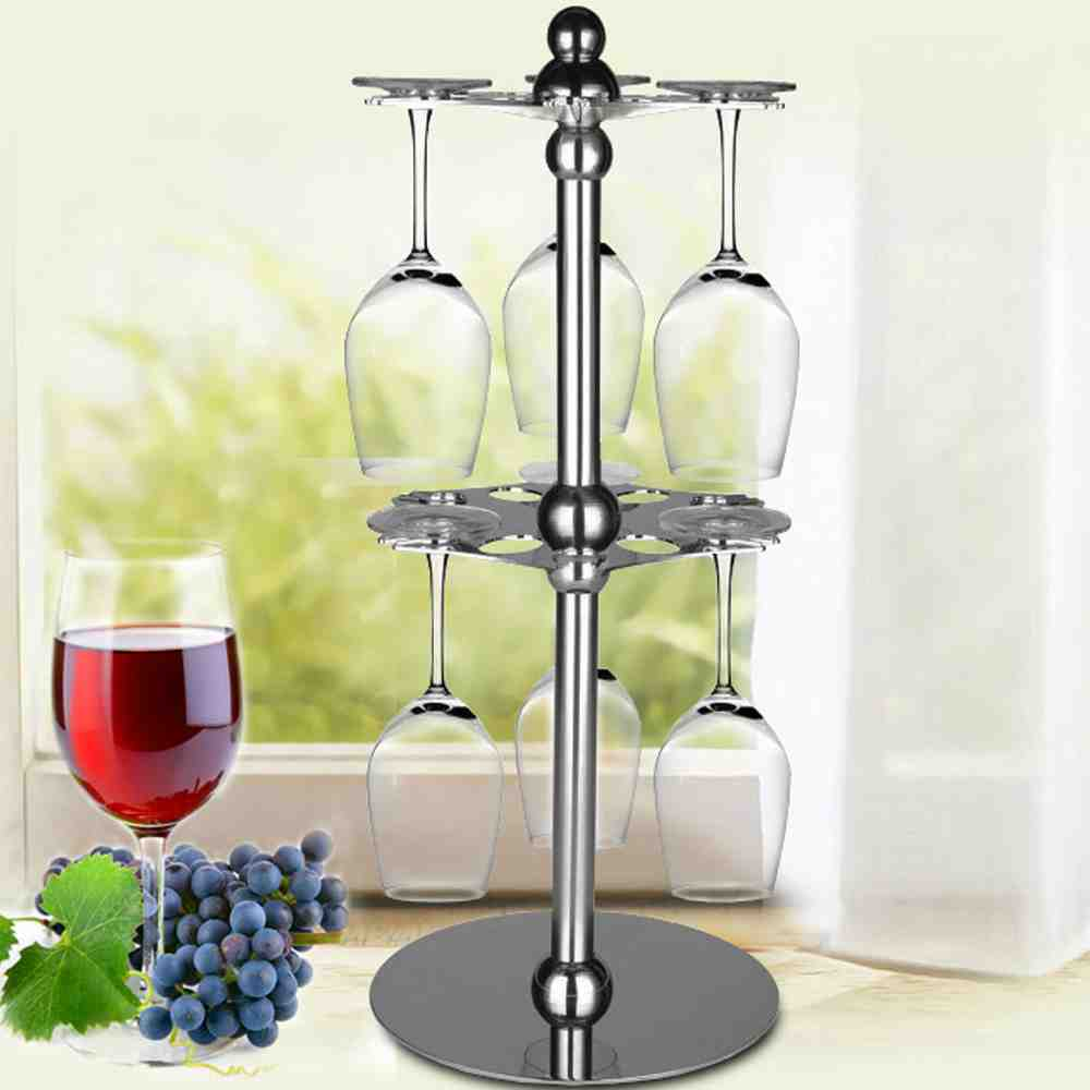Under Counter Wine Glass Rack