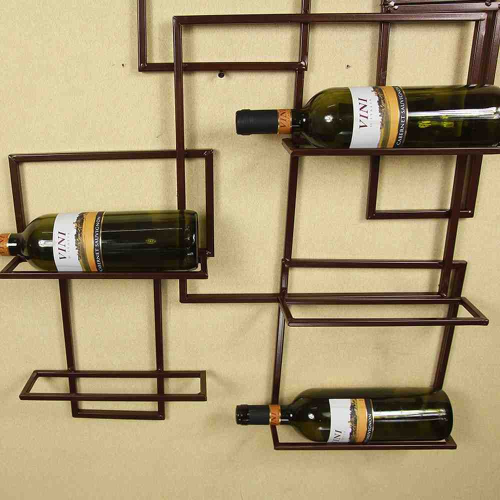 Wall Hanging Wine Glass Rack