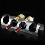 Wall Mount Wine Bottle Rack