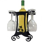 Wall Wine Glass Rack