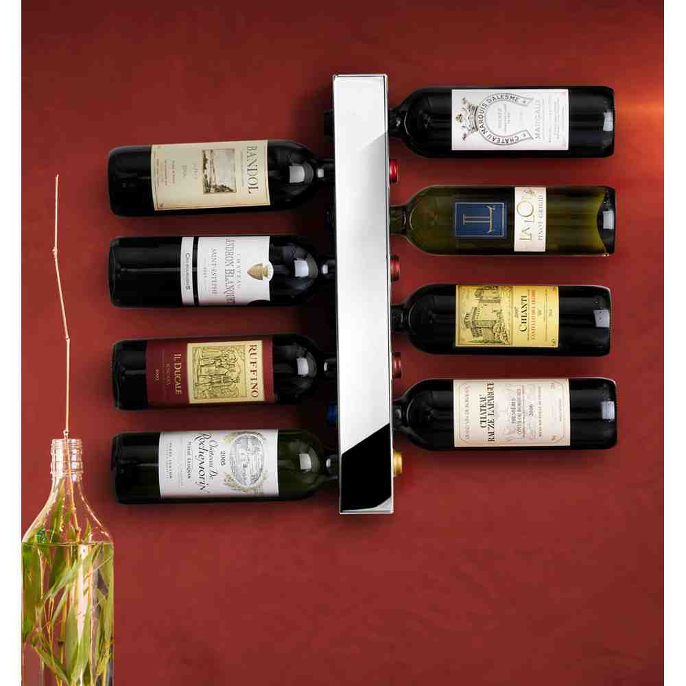 Wine Bottle Wall Rack