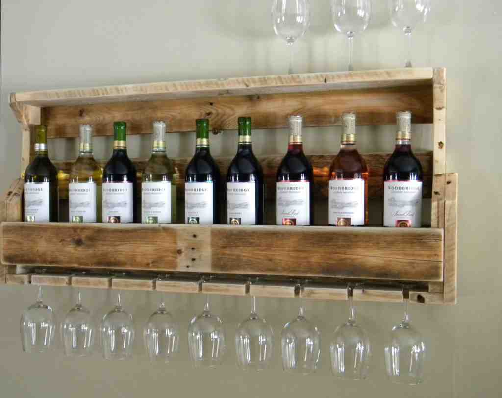 Wine Glass Rack Plans