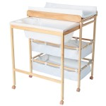 Wooden Baby Changing Table