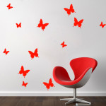 Diy Paper Butterfly Wall Decor