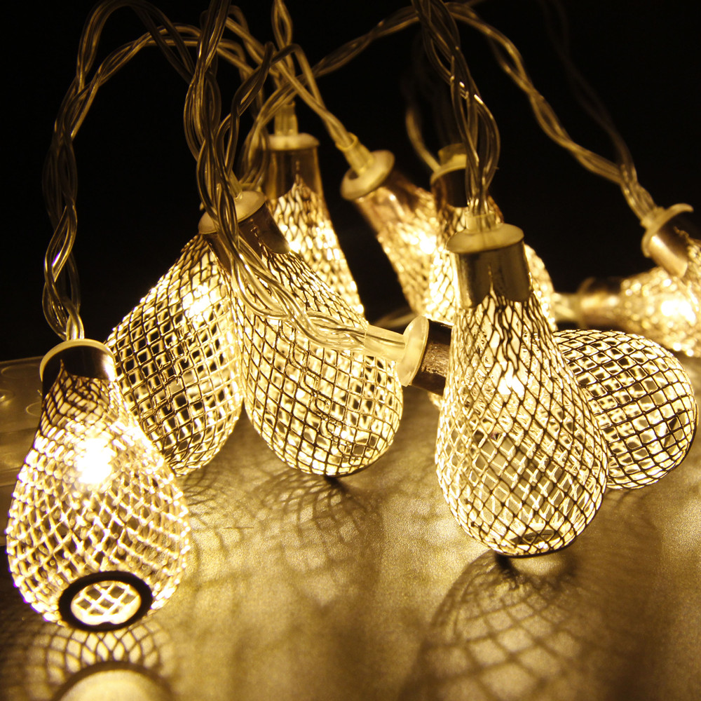 Novelty String Lights Outdoor Decor Ideas