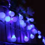Outdoor Led Globe String Lights