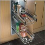 Wire Kitchen Shelves