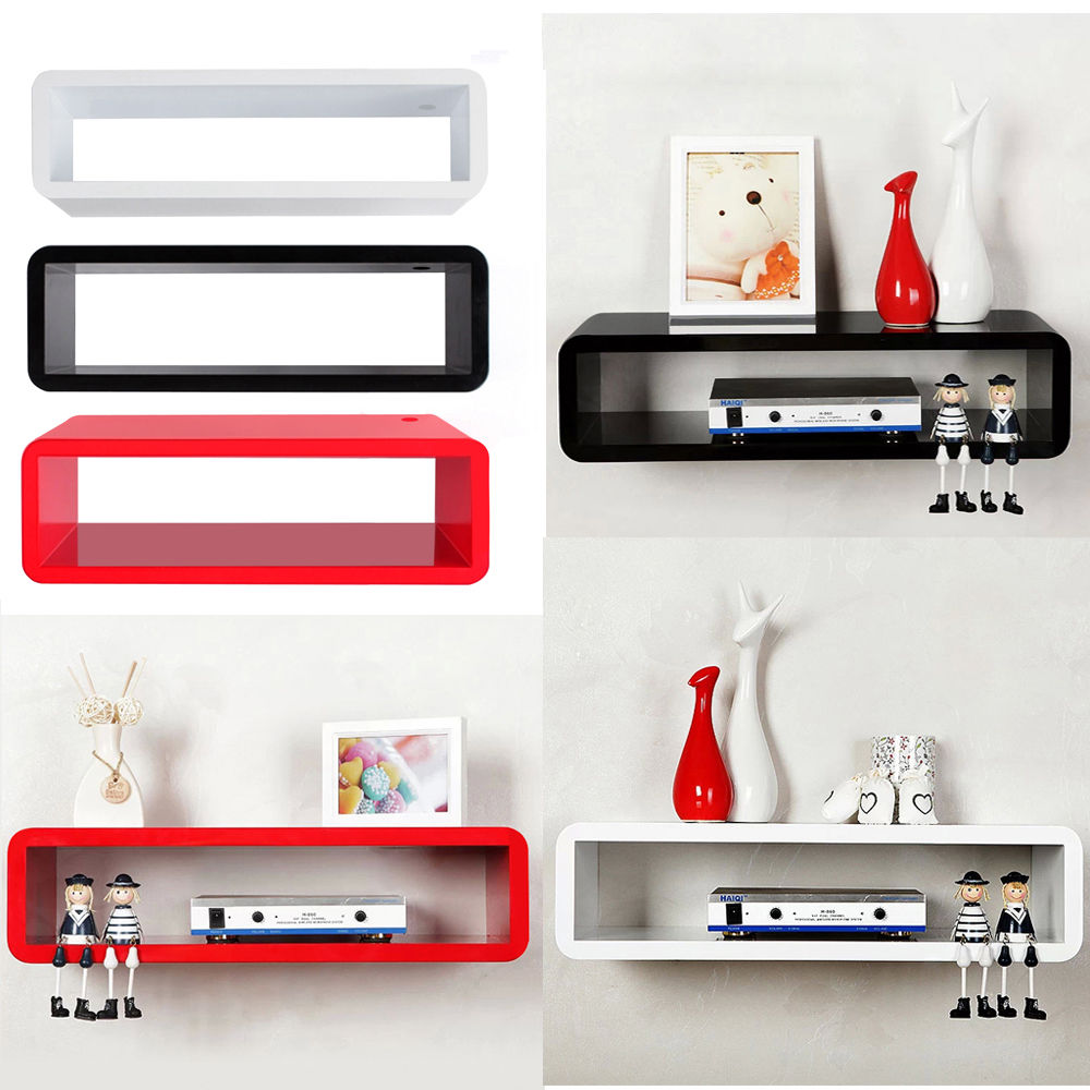 Box Shelves Wall Mounted