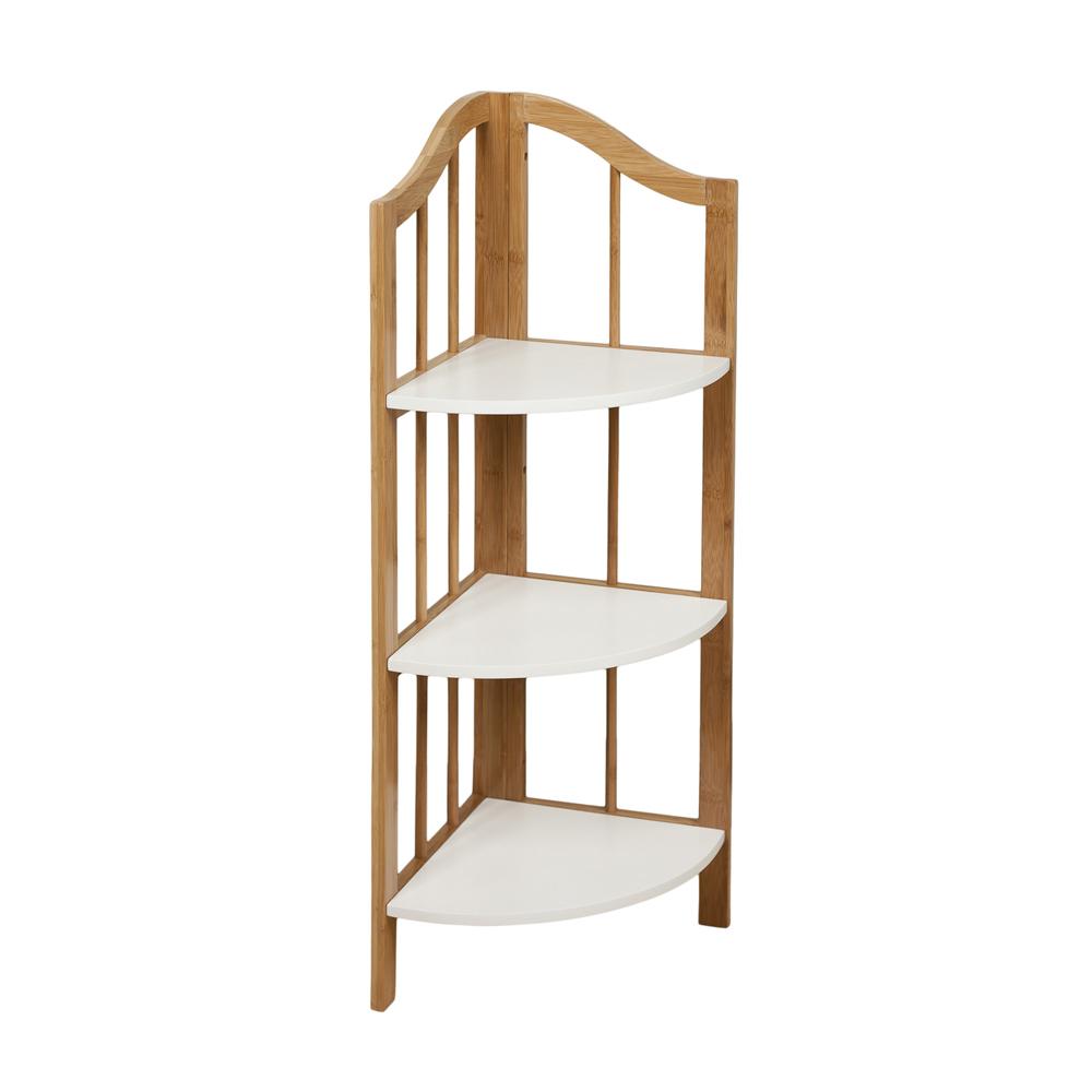 Corner Ladder Shelves
