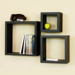 Dark Wood Wall Shelves