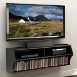 Floating Entertainment Shelves