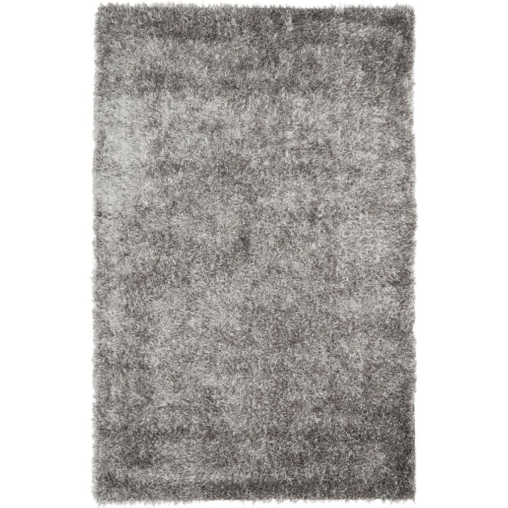 Gray Shag Area Rug