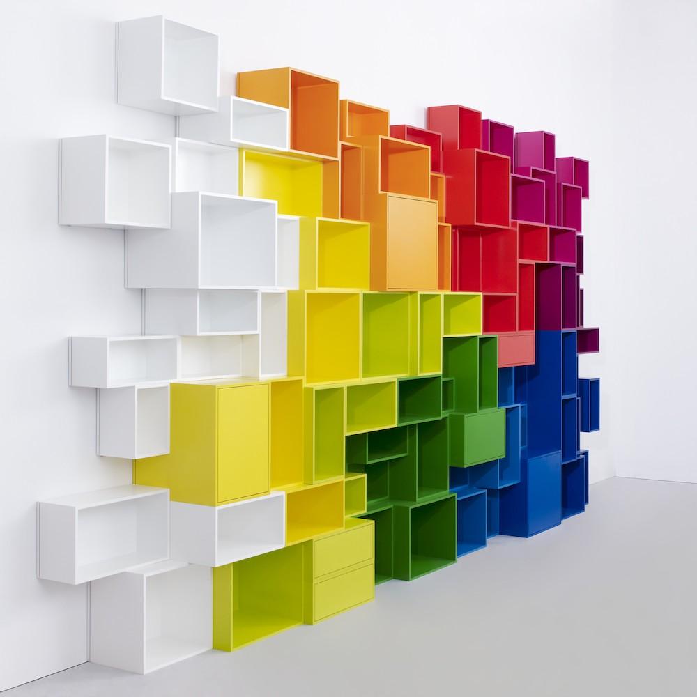 Ikea Cube Shelves