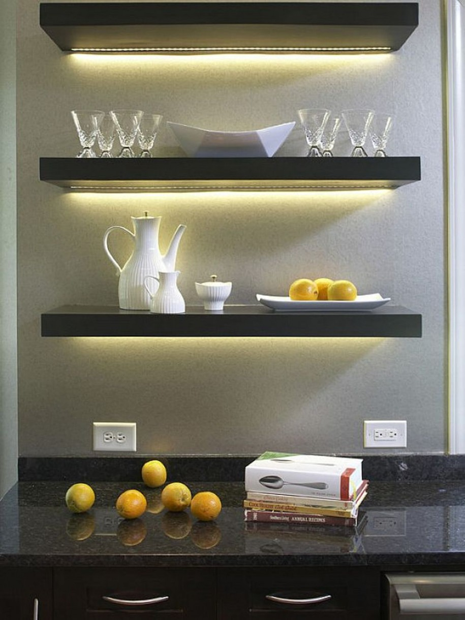 Ikea Floating Shelves Decor Ideas