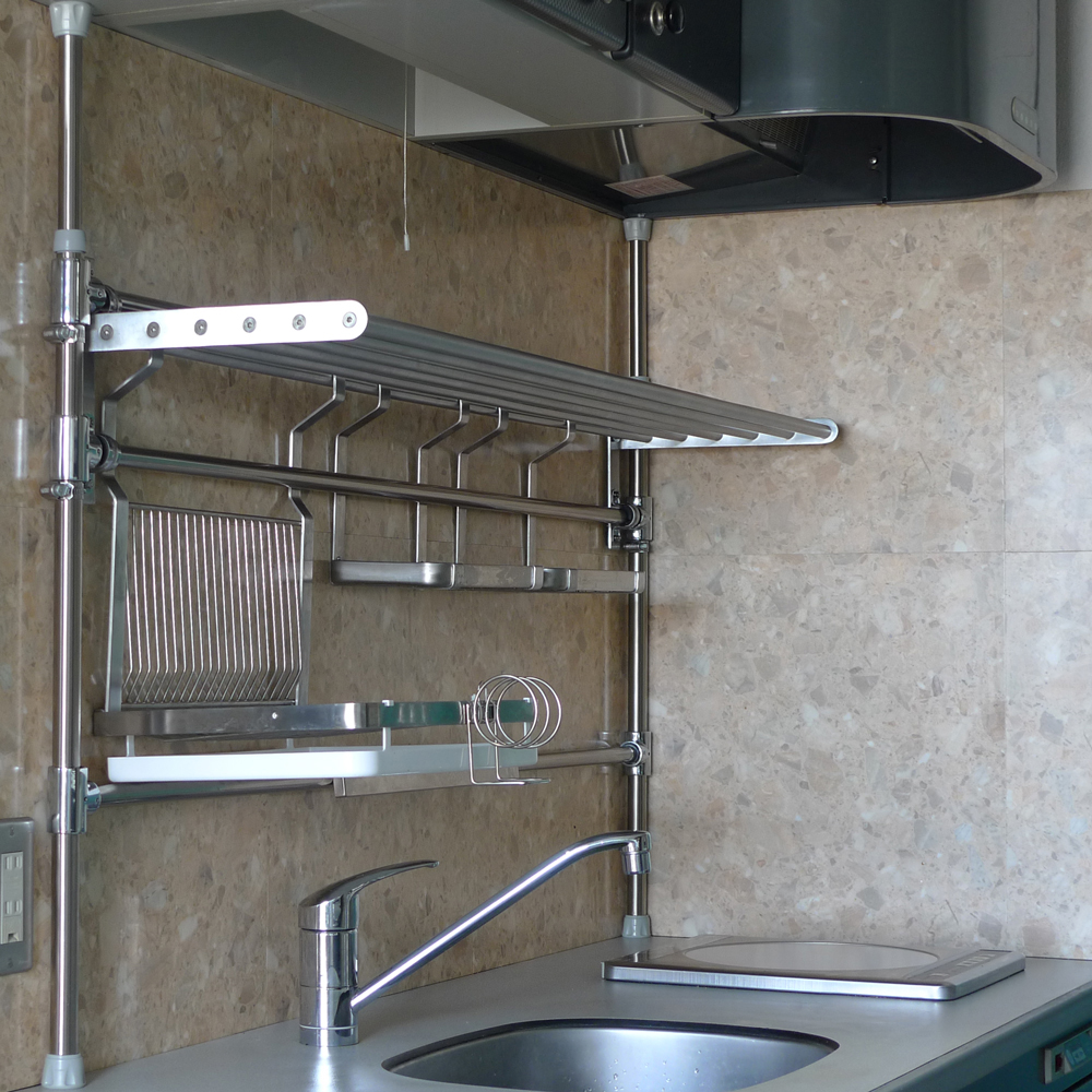 Ikea Stainless Steel Shelves