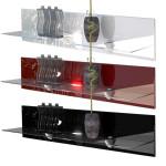 Lighted Floating Shelves