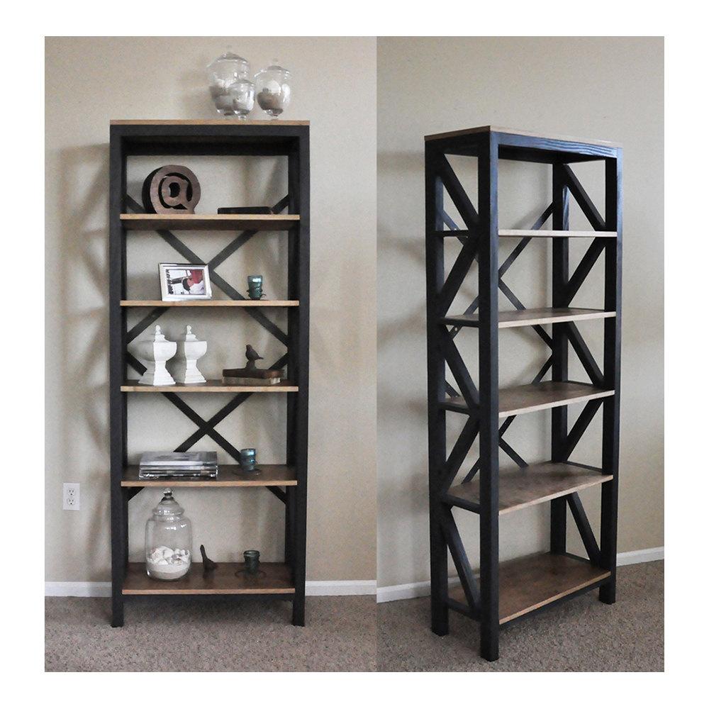 Tall Corner Shelves