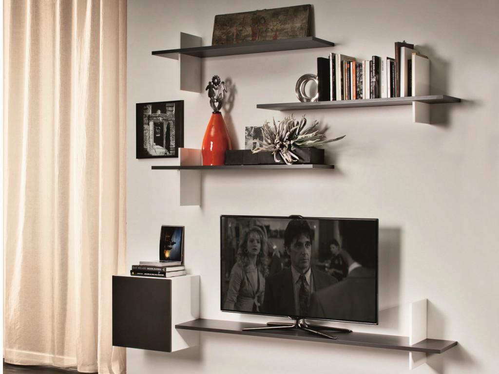 Tv Wall Shelves Wood