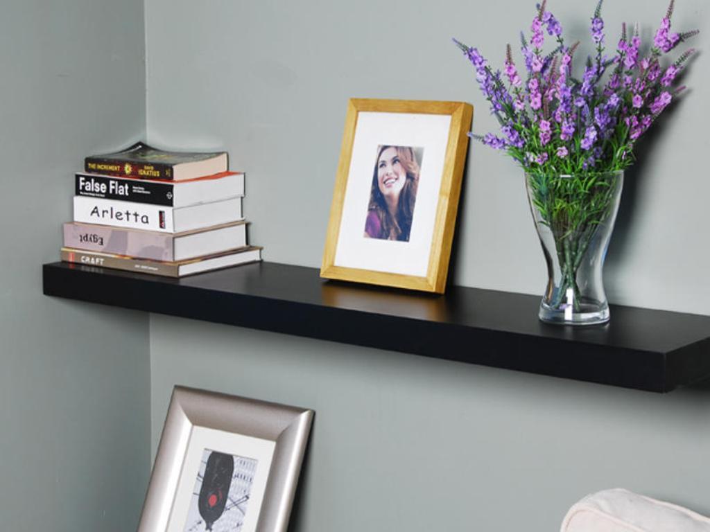 Wall Mount Book Shelves