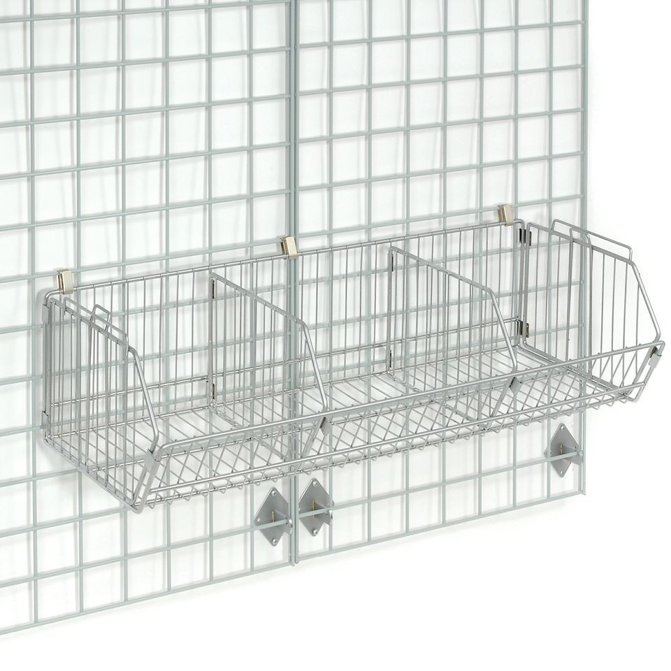 Wall Mounted Wire Shelving
